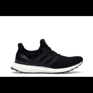 Adidas Ultra boost core black sneakers 8.5
